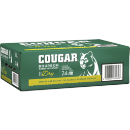 Photo of Cougar Bourbon & Dry Cans