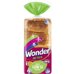 Photo of Wonder White Wonder Active Low Gi + Protein Soft White Sliced Bread 680g
