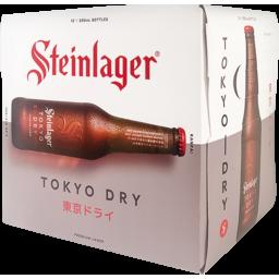 Photo of Steinlager Tokyo Dry 330ml Bottles 12 Pack