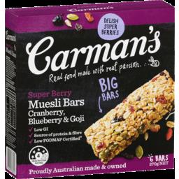 Photo of Carman's Super Berry Muesli Bars 270g