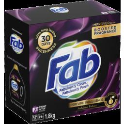 Photo of Fab Perfume Indulgence Sublime Velvet, Powder Laundry Washing Detergent, 1.8kg
