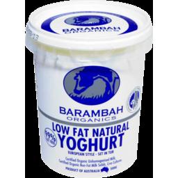 Photo of Barambah Yoghurt - Low Fat Natural