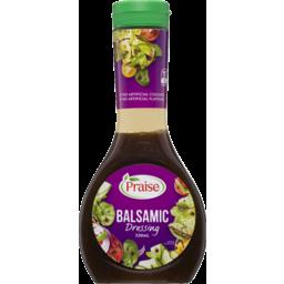 Photo of Praise Balsamic Dressing 330ml