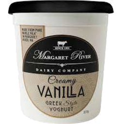 Photo of Margaret River Creamy Vanilla Greek Style Yoghurt 920g