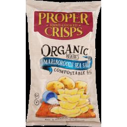 Photo of Proper Crisps Crisps Organic Marlborough Sea Salt 150g