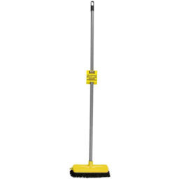Photo of Black and Gold Broom With Handle Household1p