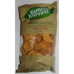 Photo of Summer Harvest Corn Chips Jalapeno 200g