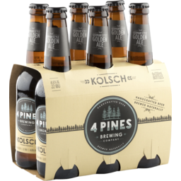 Photo of 4 Pines Kolsch Stubbies