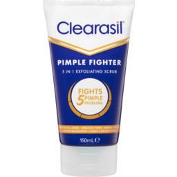 Photo of Clearasil Pimple Fighter 5 In 1 Scrub 150ml