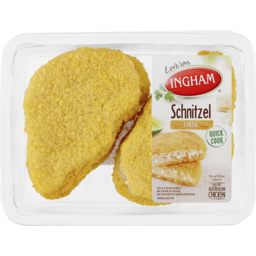 Photo of Ingham's Chicken & Cheese Schnitzel 500g