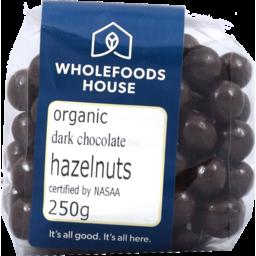 Photo of Wholefoods House Chocolate Hazelnuts Dark 250g