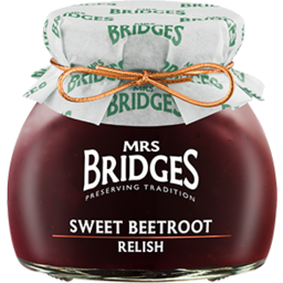 Photo of Mrs Bridges Relish Swt B/Root 230gm