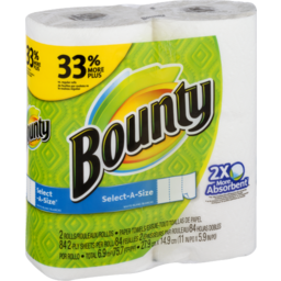 Photo of Bounty Select-A-Size Paper Towels - 2 Ct