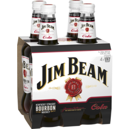 Photo of Jim Beam White Label & Cola Stubbies