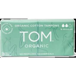 Photo of Tom Organic Tampons - Regular 2 X8 Pack