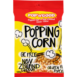 Photo of Pop 'n' Good Popping Corn 500g