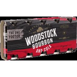 Photo of Woodstock & Cola 4.8% 440ml 5 Pack