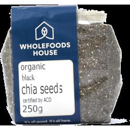 Photo of Wholefoods House Chia Seeds Organic Black 250g