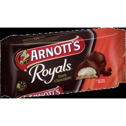 Photo of Arnotts Chocolate Biscuits Royals Dark Chocolate 200g