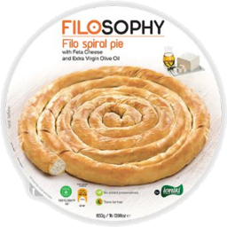 Photo of Filo Spiral Spin/Feta Pie 850g