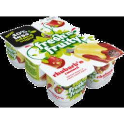 Photo of Fresh'n Fruity 40% Less Sugar Yoghurt Rhubarb & Custard 6 Pack