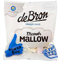 Photo of De Bron Sugar Free Marsh Mallows 75gm