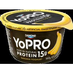 Photo of Danone YoPro Yoghurt Banana 160g