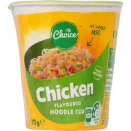 Photo of Choice Chicken Noodle Cup 70g