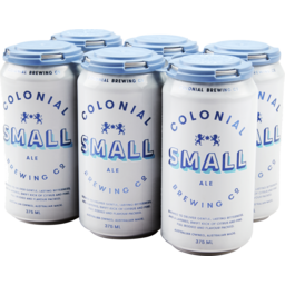 Photo of Colonial Small Ale Cans