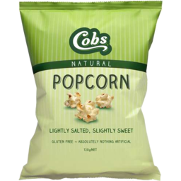 Photo of Cobs Natural Popcorn Lightly Salted & Slightly Sweet 120gm