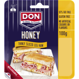 Photo of Don Shaved Honey Roasted Leg Ham 100g