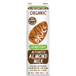 Photo of Nutty Bruce Milk - Almond (Activated - Unsweetened)