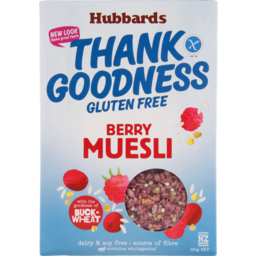 Photo of Hubbards Gluten Free Thank Goodness Berry Muesli 350g