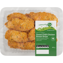 Photo of Community Co Sweet Chilli Chicken Strips l400g