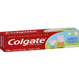 Photo of Colgate Toothpaste Kids Sparkling Mint Gel 80gm