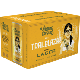 Photo of Fortune Favours Beer Trailblazer 6x330ml