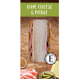 Photo of Everyday Ham Cheese & Pickle Sandwich