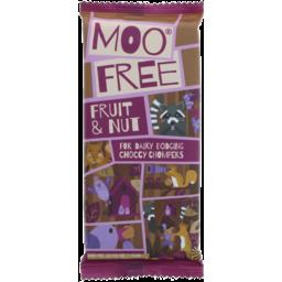 Photo of MOO FREE:MF Chocolate Bar Fruit & Nut 80g