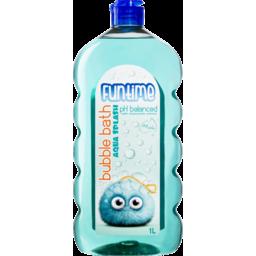 Photo of Funtime Bubble Bath Aqua Splash 1l