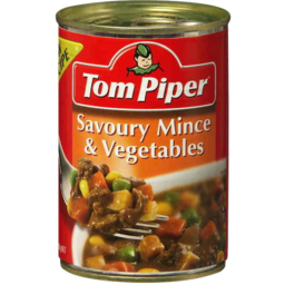 Photo of Tom Piper Savoury Mince & Vegetables 400gm