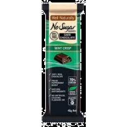 Photo of Well Naturally Nsa Dark Chocolate Mint Crisp 45g