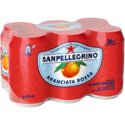 Photo of San Pell Aranc Rossa 6x330ml