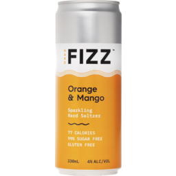 Photo of Hard Fizz Orange & Mango Seltzer Cans