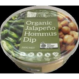 Photo of Organic Indulgence Jalapeno Hommus Dip 200g