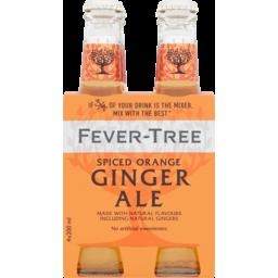 Photo of Fever Tree Spiced Orange Ginger Ale Bottles