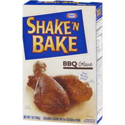 Photo of Kraft Shake 'N Bake Seasoned Coating Mix BBQ Glaze