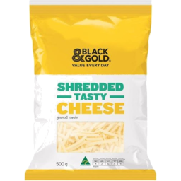 Photo of Black & Gold Tasty Shredded Cheese 500gm