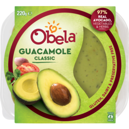 Photo of Obela Guacamole Classic 220g