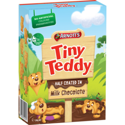 Photo of Arnotts Tiny Teddy Choc Coated 200gm