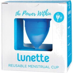 Photo of Lunette Menstrual Cup Model 1 Blue